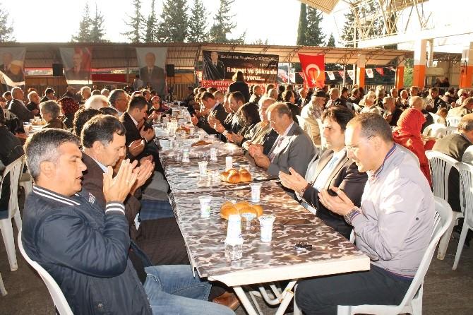 MHP Teşkilatı Merhum Türkeş'i Mevlid-i Şerif İle Andı