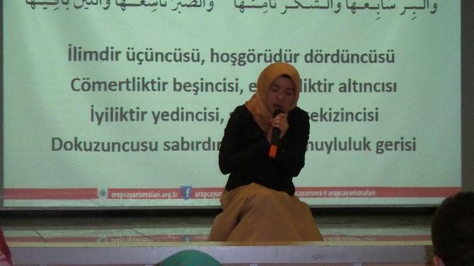 Tosya'da 6. Arapça Yarışması İl Elemeleri Yapıldı