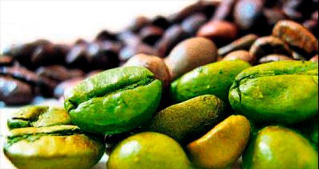 Kararında yeşil kahve kalp dostu