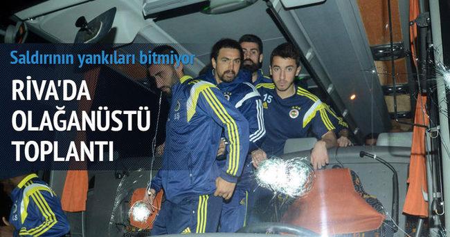 Türk futbolu Riva'da masaya yatırılıyor