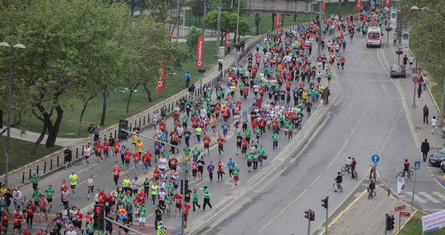 Vodafone İstanbul Yarı Maratonu'nda bir ilk