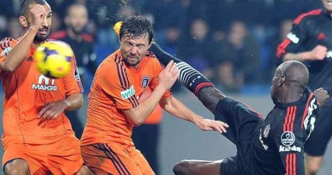 Beşiktaş — Başakşehir maçı özeti ve golleri (Kartal duvarı aşamadı!..)