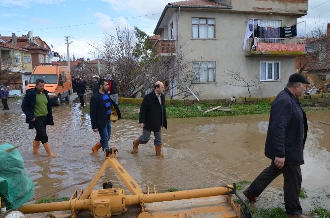 Şuhut'ta Yaşanan Sel Baskının Ardından