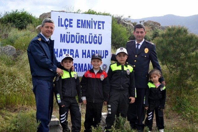 Datça Emniyet Müdürlüğü Hatıra Ormanı Oluşturdu