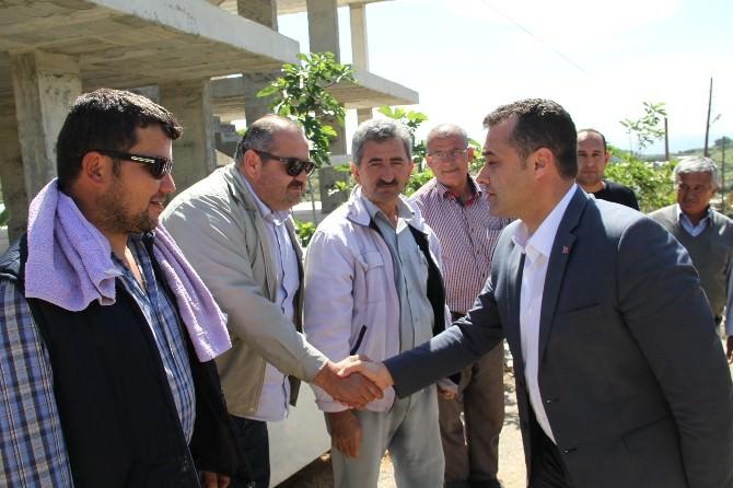 Alanya'da Kırsal Mahallelerinde Çalışmalar Sürüyor
