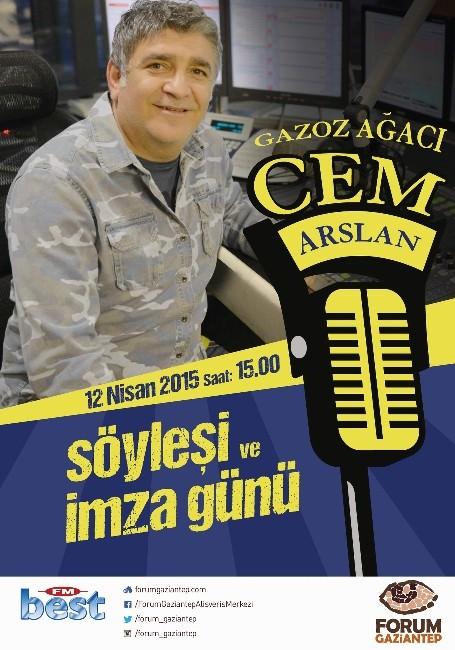 Cem Arslan, Forum Gaziantep'te Sevenleriyle Buluşuyor