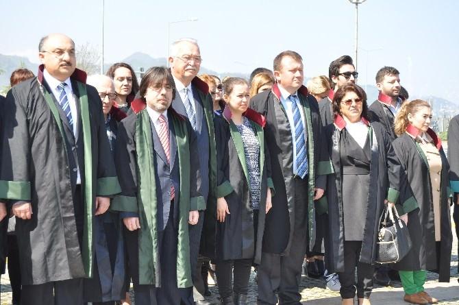 Giresun'da Avukatlar Günü'nde Adliyelerdeki Güvenlik Açığına Dikkat Çekildi