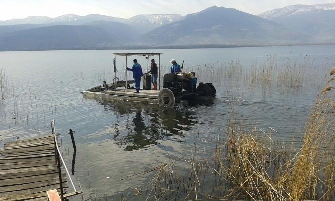 Sapanca Gölü Çevresinde Temizlik Çalışması Yapıldı
