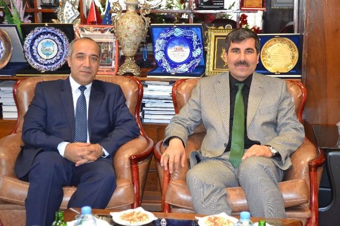 MŞÜ Rektörü Polat'tan Başkan Asya'ya Ziyaret