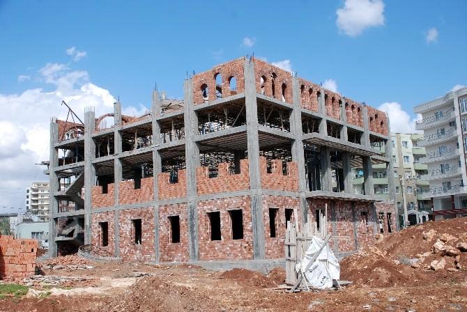Bahçelievler'de Yapılan Cami İnşaatı Devam Ediyor