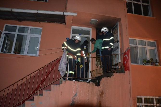 Fatsa'daki Yangın Korkuttu