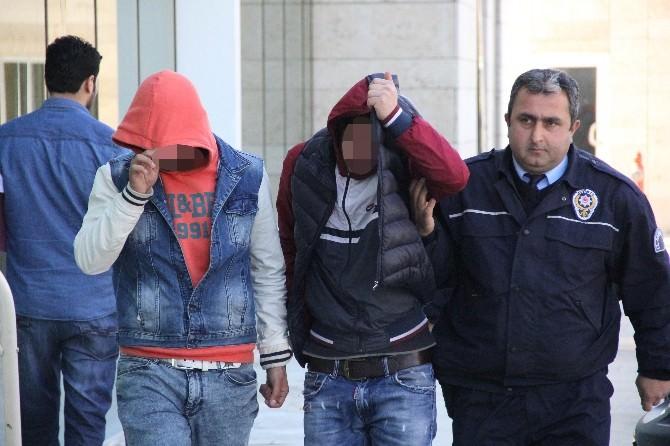 Boya Hırsızlığına 4 Gözaltı