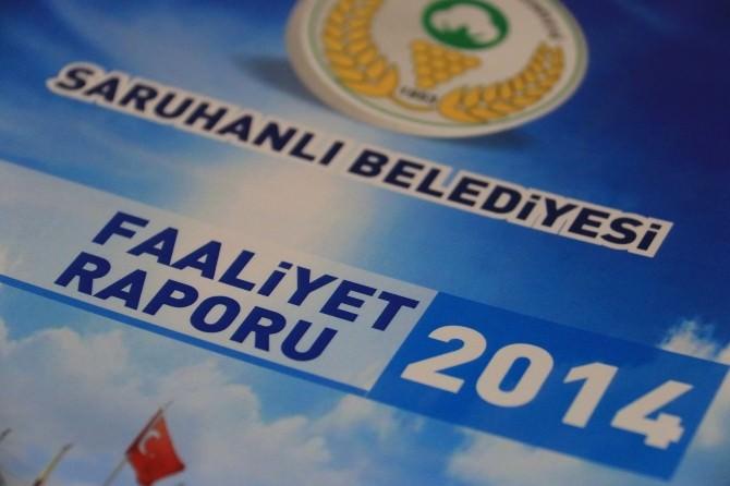 Saruhanlı Belediyesi'nin 2014 Yılı Faaliyet Raporu Kabul Edildi