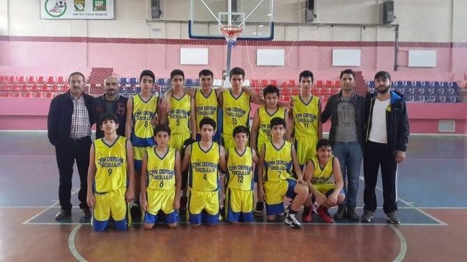 Tunceli Küçükler Basketbol Takımı Bölge Şampiyonu Oldu