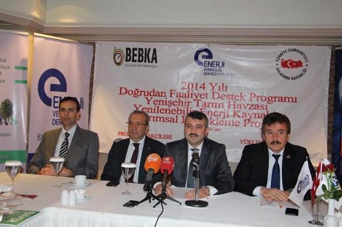 Bursa'da Güneş Enerjili Tarım