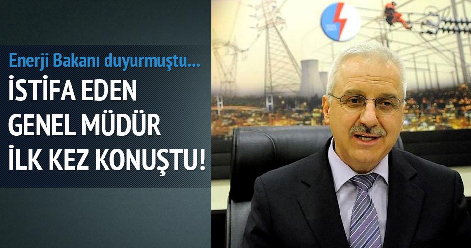 İstifa eden TEİAŞ Genel Müdürü konuştu
