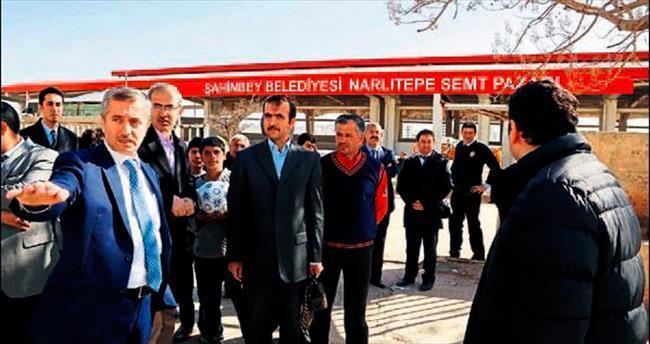 Şahinbey'in semt pazarı Gaziantep'in en büyüğü