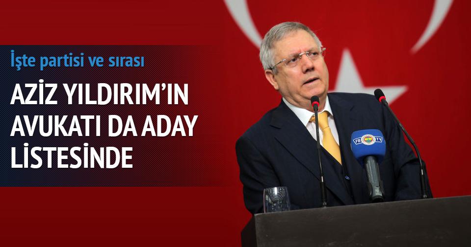 Aziz Yıldırım'ın avukatı Faik Işık AK Parti'den aday oldu