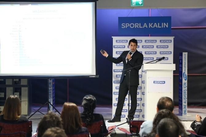 Decathlon Türkiye'de Büyüyor