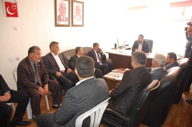 AK Parti'den, Saadet Ve HDP İl Başkanlığına Ziyaret