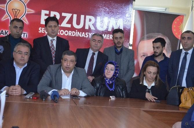 AK Parti Erzurum Milletvekili Adayları Açıklandı