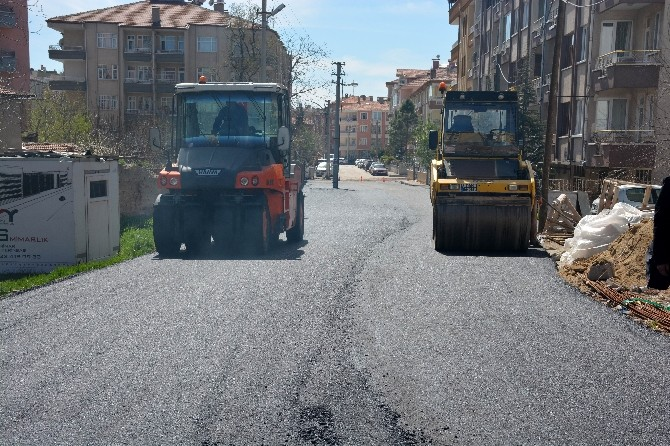 Aksaray'da Asfalt Sezonu Açıldı