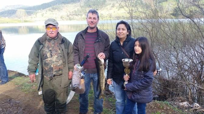 Çan'da 3. Turna Balığı Tutma Şenliği