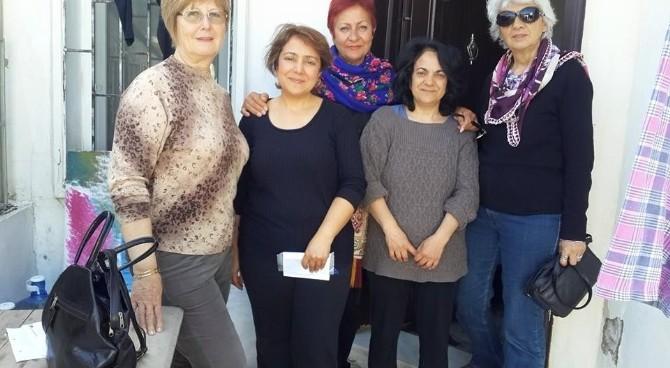 CHP'li Kadınlar Seçim İçin Kolları Sıvadı