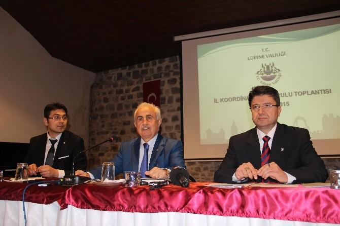 Edirne'ye Yapılacak Yatırımlar Görüşüldü