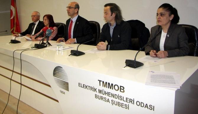 Bursa Elektrik Mlühendisleri Odası'ndan Bakan Yıldız'a İstifa Çağrısı