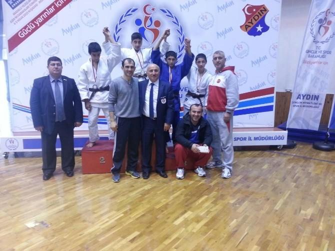 Vanlı Judocular Türkiye Şampiyonu Oldular