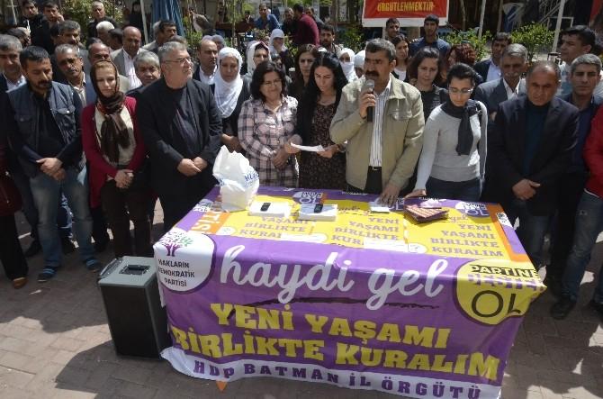 HDP Batman'da Seçim Startını Verdi