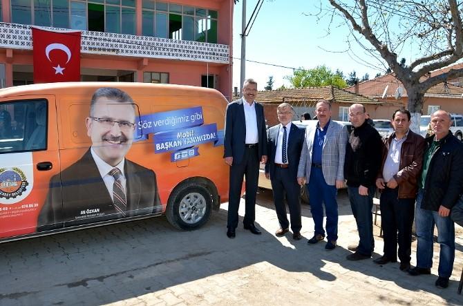 Mobil Başkan Halkın Arasında