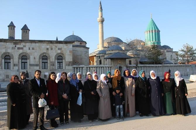 Büyükşehir'den Kadınlara Konya Gezisi
