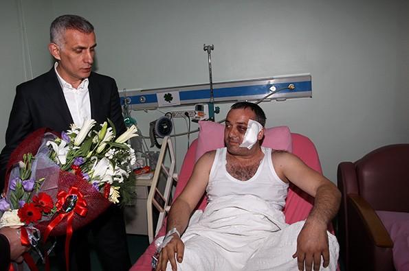 Hacıosmanoğlu, Ufuk Kıran'ı Ziyaret Etti