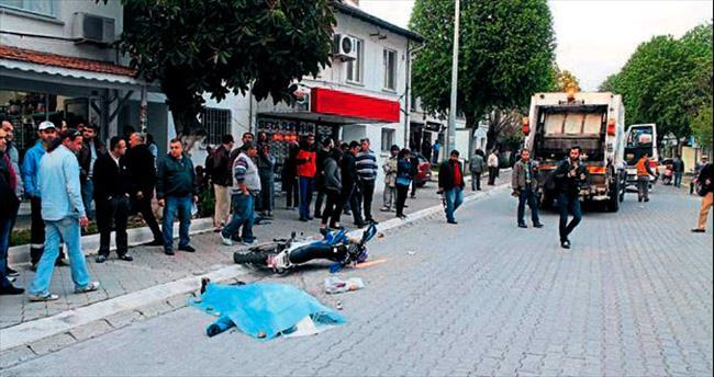 Motosiklet kazaları Fethiye'de 2 can aldı