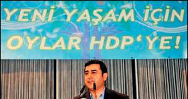 HDP yelpazeyi geniş tuttu