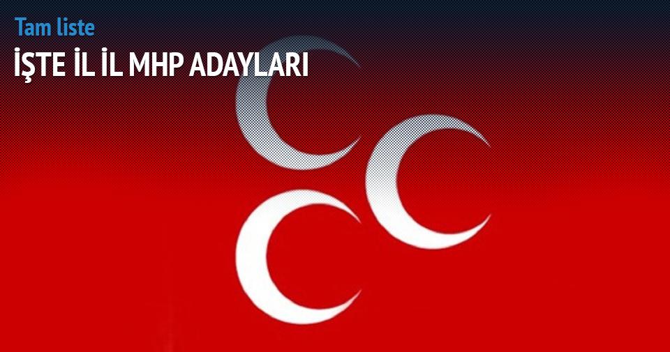 MHP milletvekilli adaylarının tam listesi — İşte il il MHP adayları!