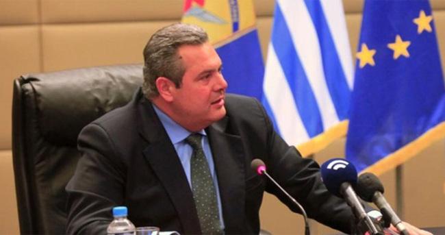 Bakanın sözleri Yunanistan'da olay oldu