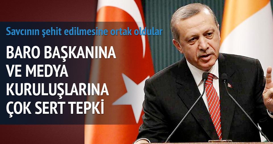 Erdoğan: Savcımızın şehit edilmesine ortak oldular