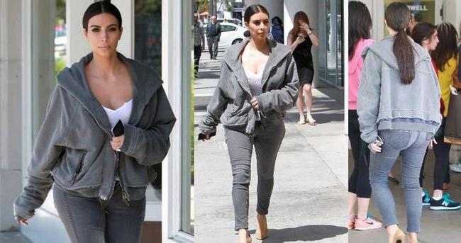 Kim Kardashian'ın eşofman üstünün fiyatı şok etti