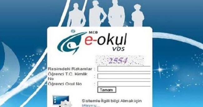MEB (VBS) E - Okul Veli Bilgilendirme Sistemi Girişi