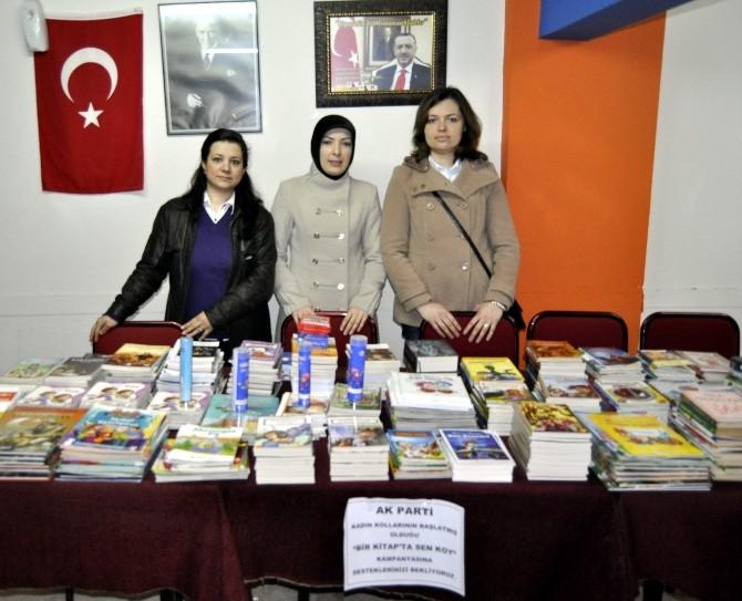 AK Kadınlardan Kitap Kampanyası