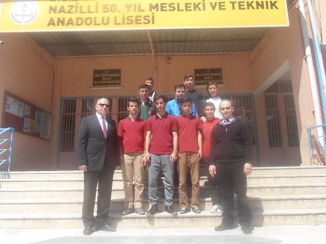 Nazillili Liseliler Avrupa'ya Açılıyor