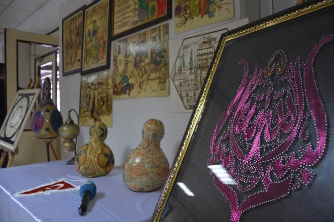 Sanatçı Ruhlu Polisler Hünerlerini Sergiledi