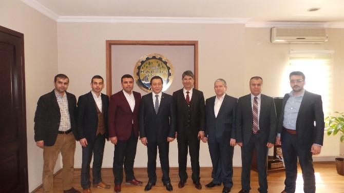 Bartın Kültür Platformu'dan, TSO Başkanı Çakır'a Ziyaret