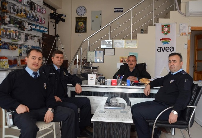 Kargı Polisinden Emekli Personele Ziyaret