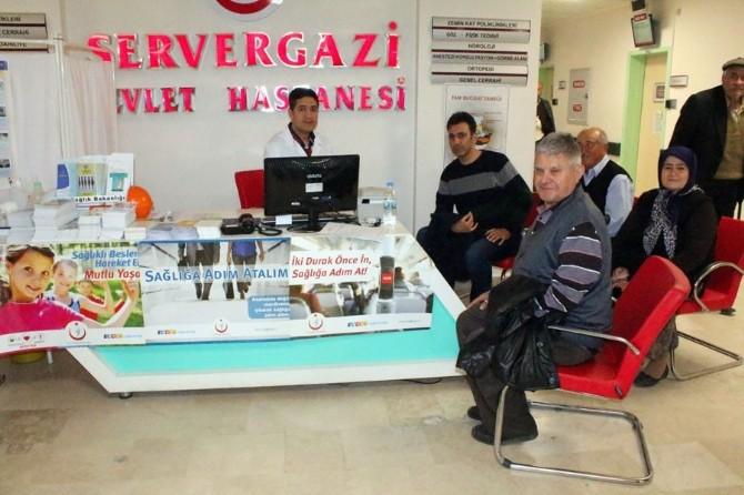 Denizli'de Vatandaşlar Sağlık Kontrolünden Geçiriliyor