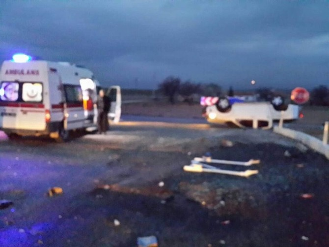 Ankara-kayseri Karayolunda Kaza: 8 Yaralı