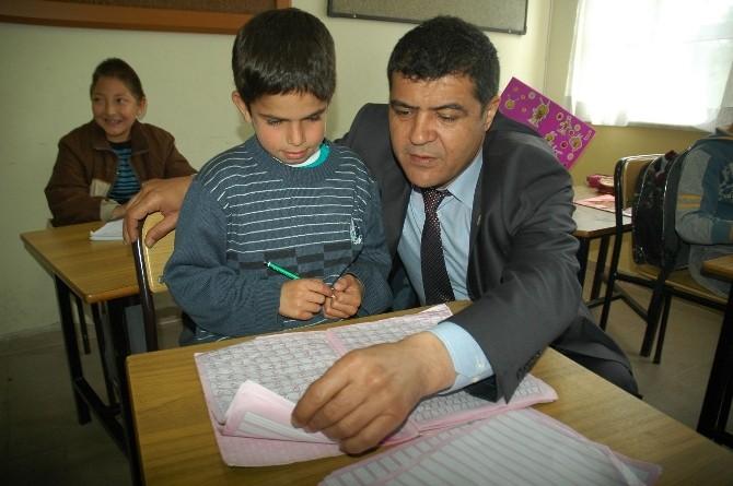 İlçe Emniyet Müdürü İlhan, Dr. Hüseyin Vural Özel Eğitim Okulu'nu Ziyaret Etti